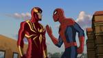 Amadeus Cho and Spider-Man