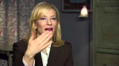 "Cinderella Cate Blanchett ""Stepmother"" First Official Movie Interview"