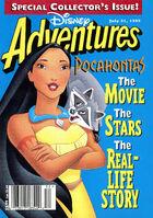 Disney Adventures Magazine cover July 31 1995 Pocahontas