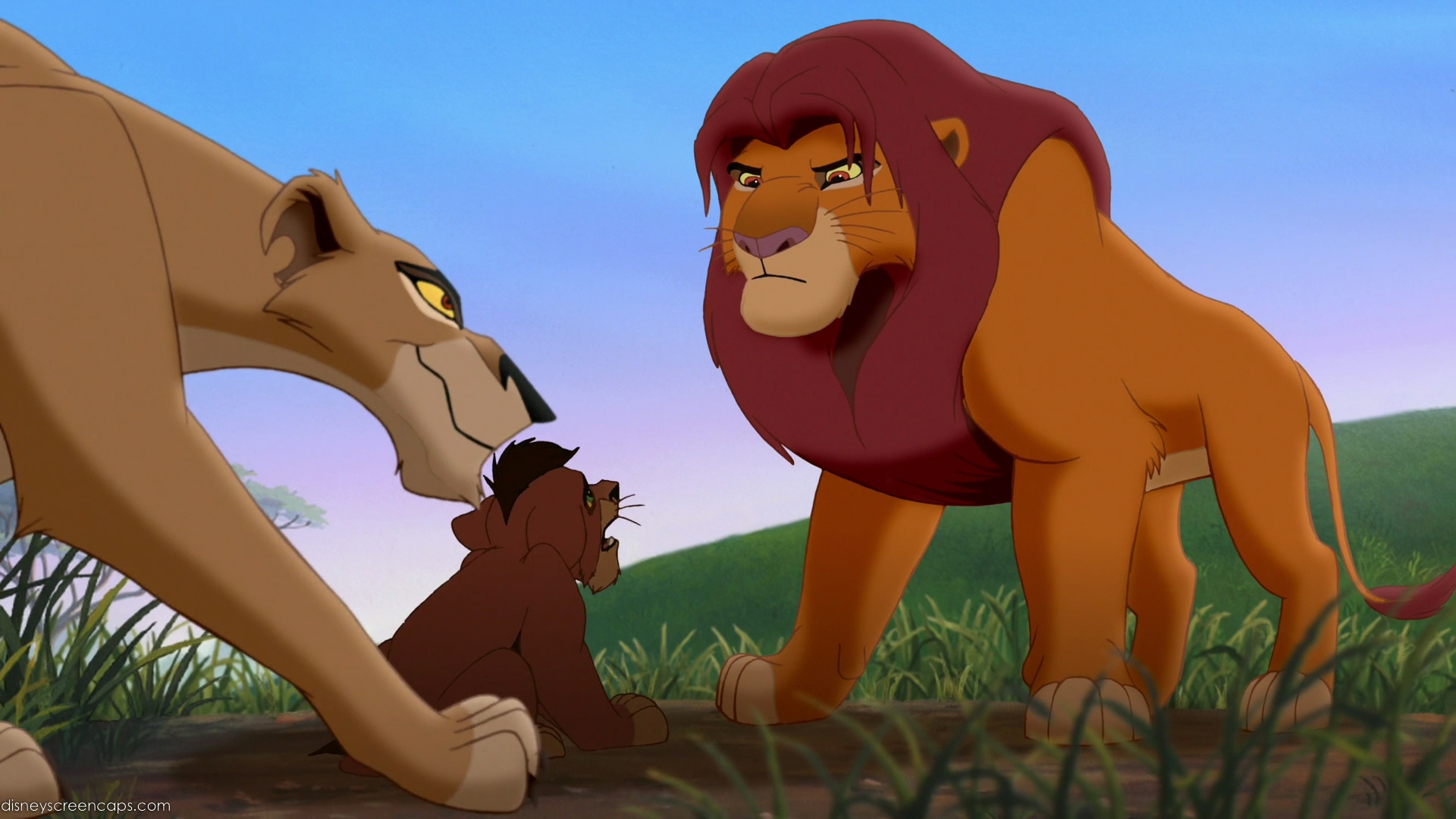 Lion king 2 sexual references