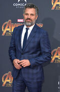 Mark Ruffalo Avengers IW premiere