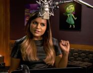 Mindy Kaling behind the scenes Inside Out