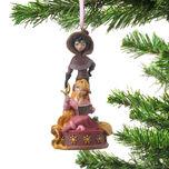 Ornament Rapunzel & Cassandra animation