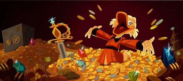 File:Scrooge McDuck still very much loves his money.jpg