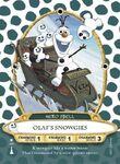 SorcererCard Olaf's Snowgies