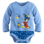 Sorcerer Mickey Mouse Disney Cuddly Bodysuit for Baby