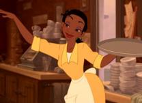 Tiana camarera