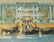 Walt Disney's The Happiest Millionaire cover