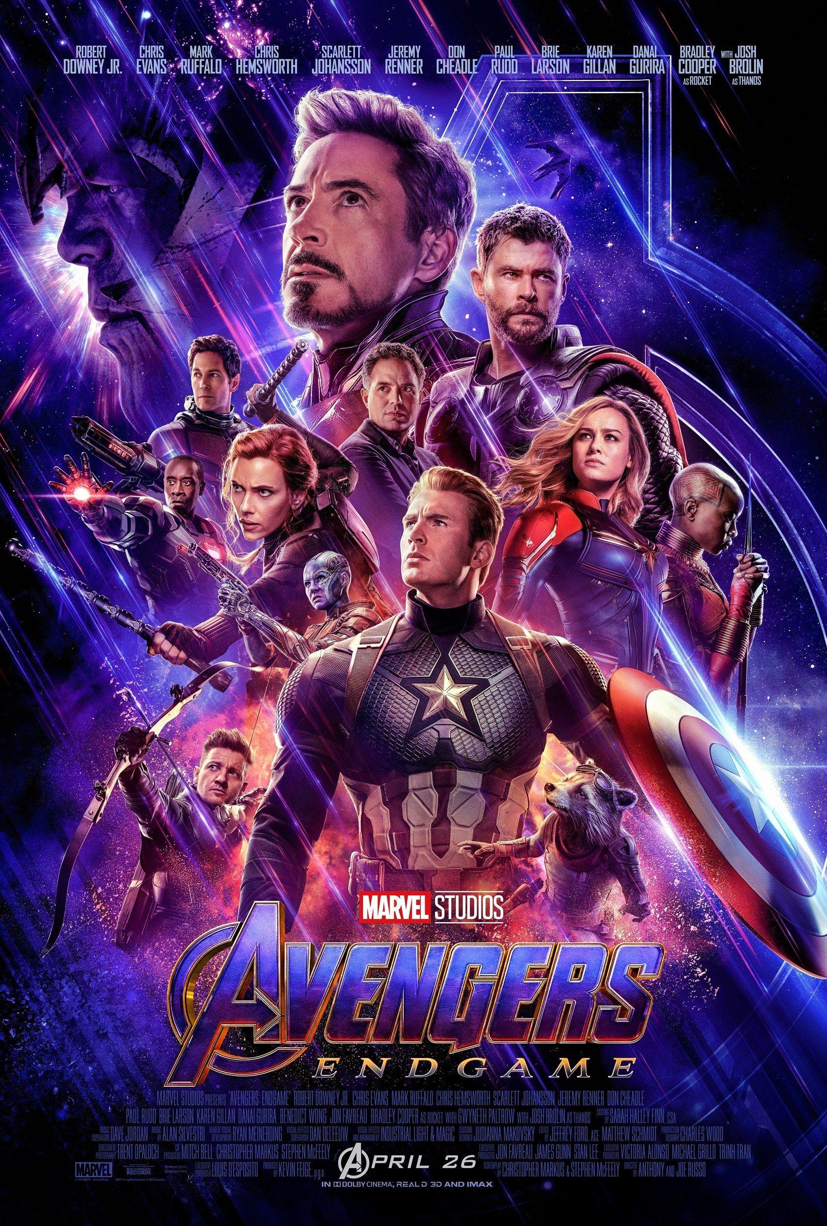 Endgame Galactic Team T-Shirt Marvel Juniors Avengers