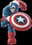 Captain America DI Running Render