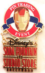 DSF - Pin Trading Event Logo - Iron Man 3 (Dangle)