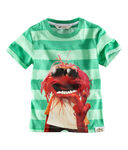 H&M-Animal-GreenStripedShirt-(2012)