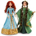 Limited Edition Merida and Queen Elinor Doll Set
