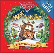 Mater saves christmas storybook and cd