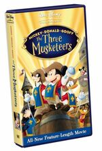 Mickey donald goofy the three musketeers uk vhs