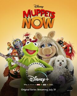 Muppets Now Disney+ poster