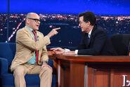 Rob Corddry visits Stephen Colbert