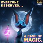 Strange Magic Dash of Love Promo