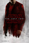 The Last Jedi red poster 6