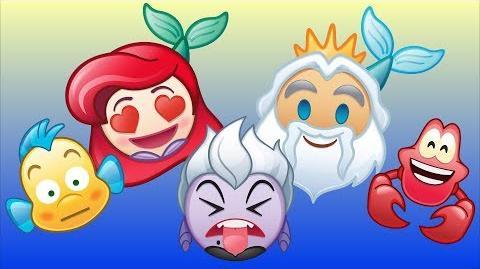 The Little Mermaid As Told By Emoji