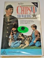 Chips the War Dog 1991 AUS VHS