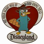 DLR - Cast Member 2013 Blood Drive (Perry the Platypus) Pin