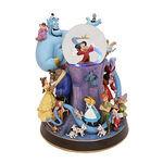 Disney characters snowglobe