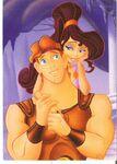 Hercules and Megara Poster