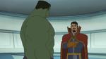 Hulk, Doctor Strange Secret Wars 01