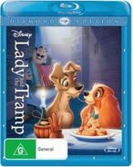 Lady and the Tramp 2012 AUS Blu Ray