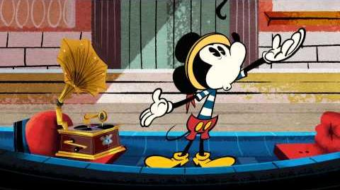 Mickey Mouse 'O Sole Minnie Disney NL