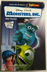 Monsters Inc 2002 AUS Rental VHS