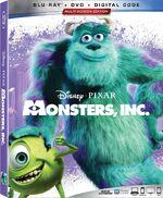 Monsters Inc Blu-ray 2019