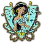 Princess Jeweled Crest - Jasmine (ARTIST PROOF)