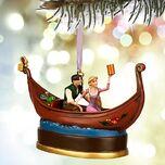Rapunzel and Flynn Ryder Disney Sketchbook Ornament