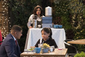 Raven's Home - 1x02 - Big Troube in Little Apartment - Devon and Nia
