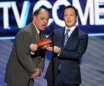 Rob Schneider & Cheech Marin at People's Choice Awards