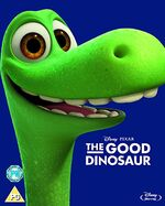 The Good Dinosaur Blu-Ray UK Artwork Sleeve