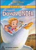 The Rescuers Down Under 2002 AUS DVD