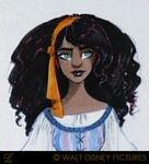 The hunchback of notre dame character 2 esmeralda 07