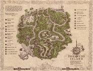 Treasure Island WDW Map