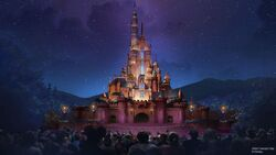 Castle of Magical Dreams HKDL art