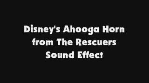 Disney's Ahooga Horn from The Rescuers SFX