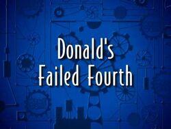 Donalds failed fourth
