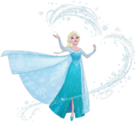 Elsa magic snow