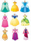EmojiBlitz-dress princess