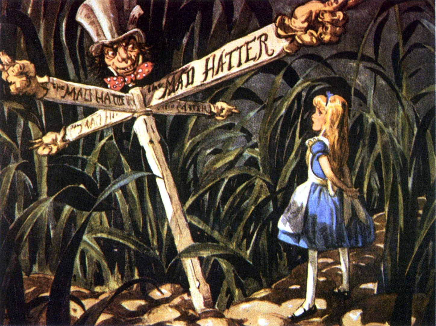 Alice at the crossroads