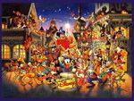 Magic of Disney Wallpaper with Disney characters