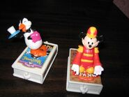 Mickey Penguin Waiter McDonalds Toys