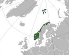 Norway Map